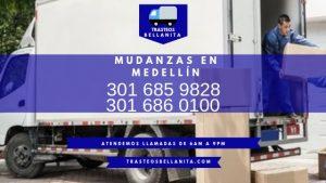 TRASTEOS EN MEDELLIN SERVICIOS A DOMICILIO