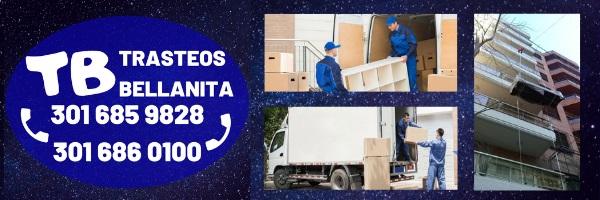 TRASTEOS BELLANITA EMPRESA DE MUDANZAS LOCALES MEDELLIN