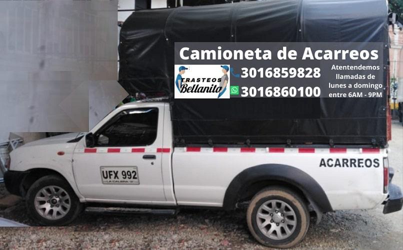 Camioneta acarreos en Copacabana
