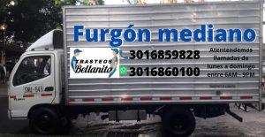 furgones de mudanzas y acarreos
